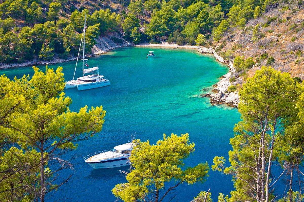 Croatia Island of Brac, Dalmatia