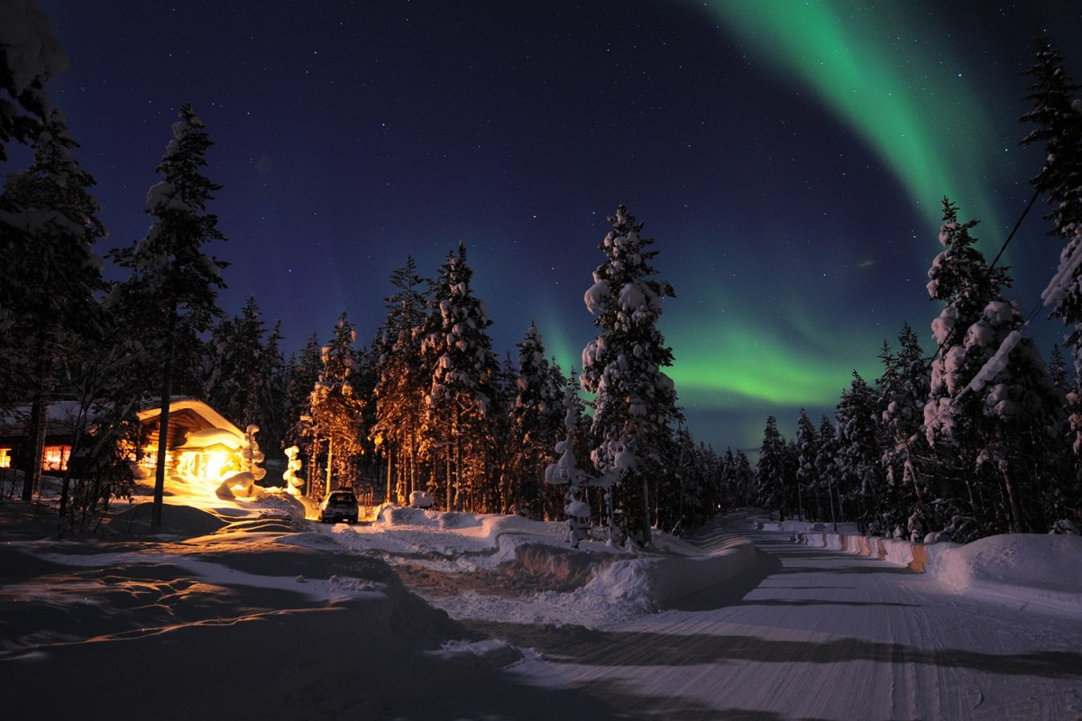 Finland - Northern lights in Lapland