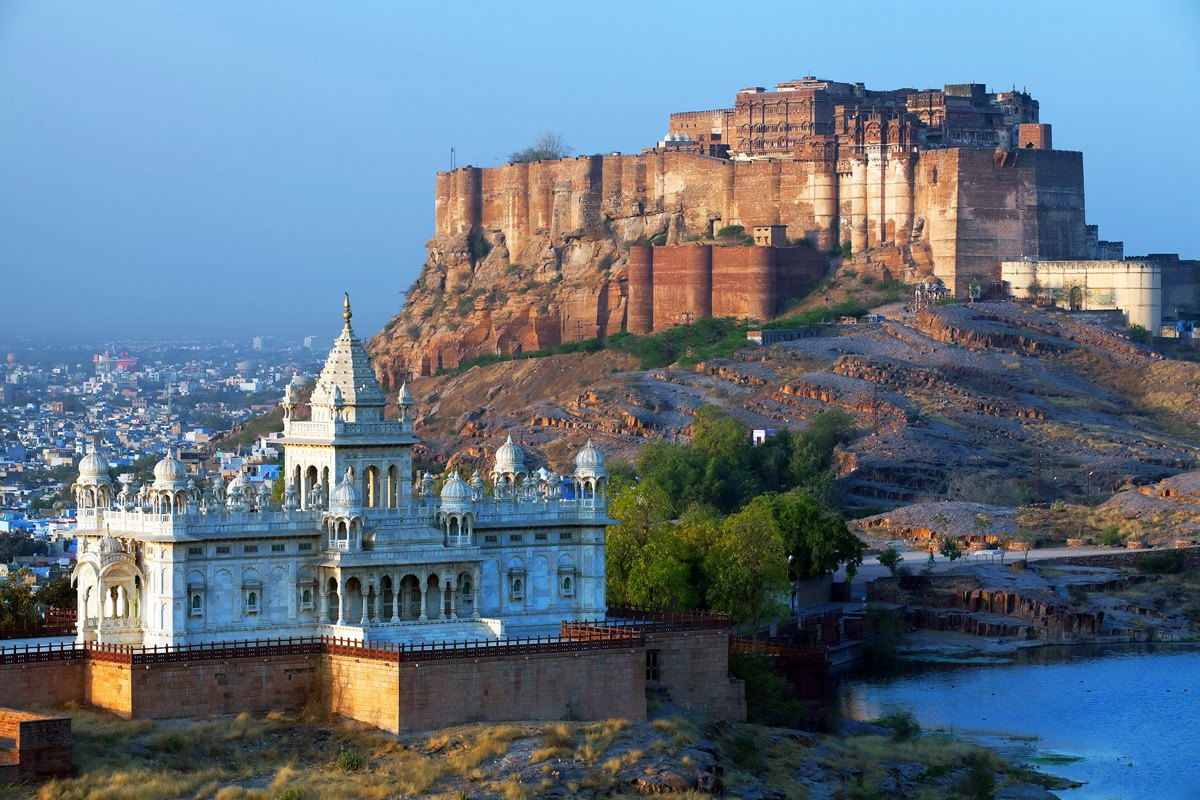 India-Mehrangarh-Fort-and-Jaswant-Thada-mausoleum