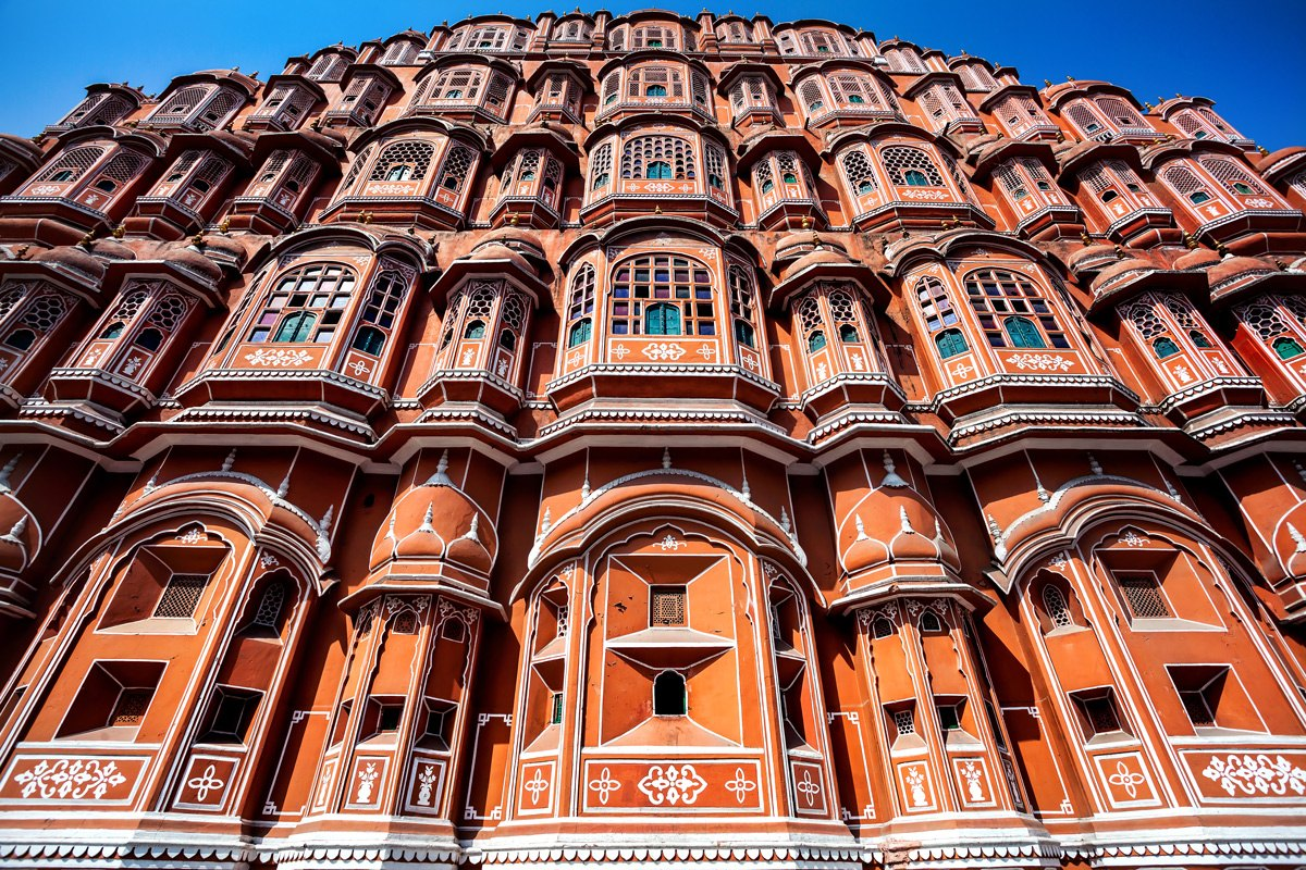 India-rajastan-Hawa-Mahal-facade-India