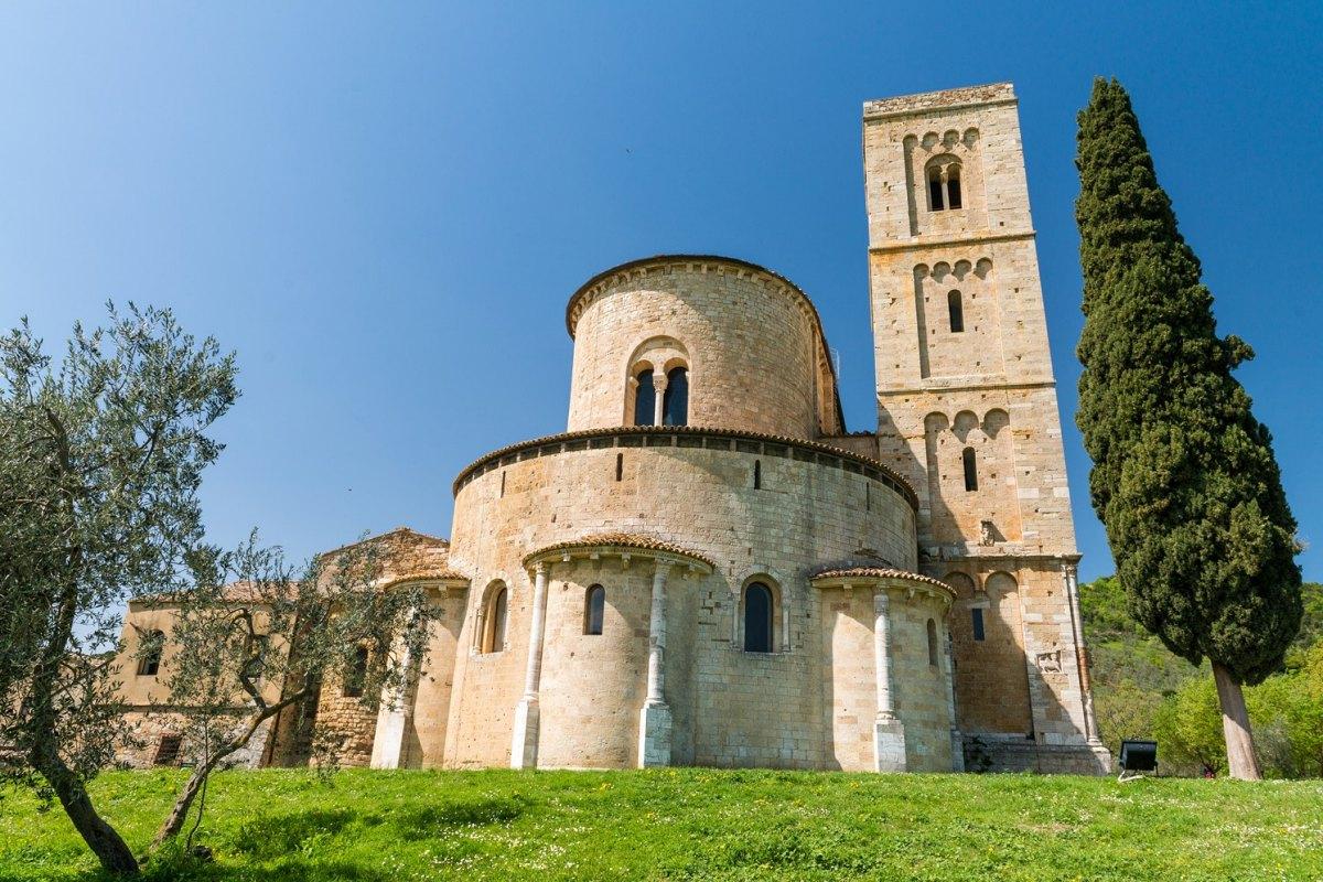 Italy-Montalcino-Sant'Antimo