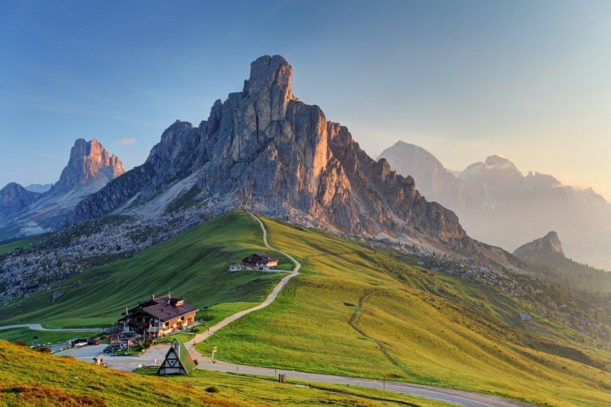 Italy-Passo Giau