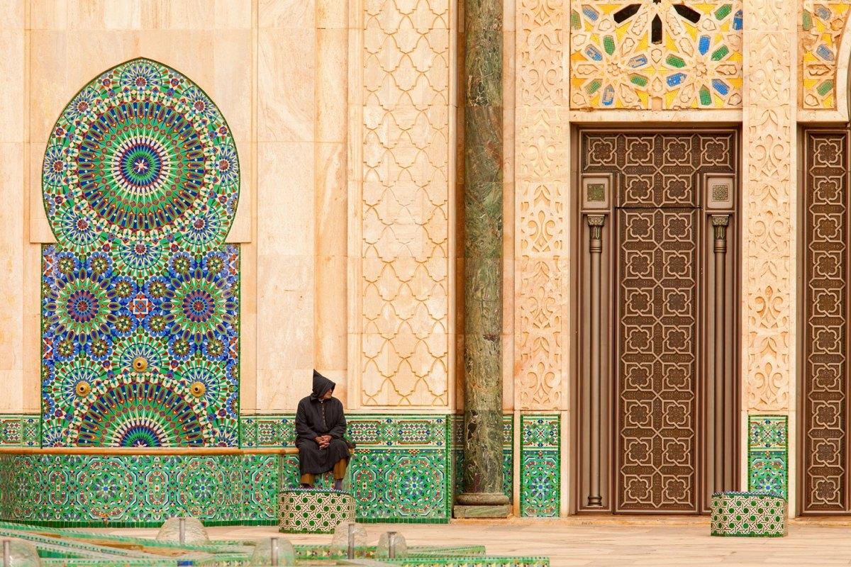 Morocco Hassan II Mosque in Casablanca