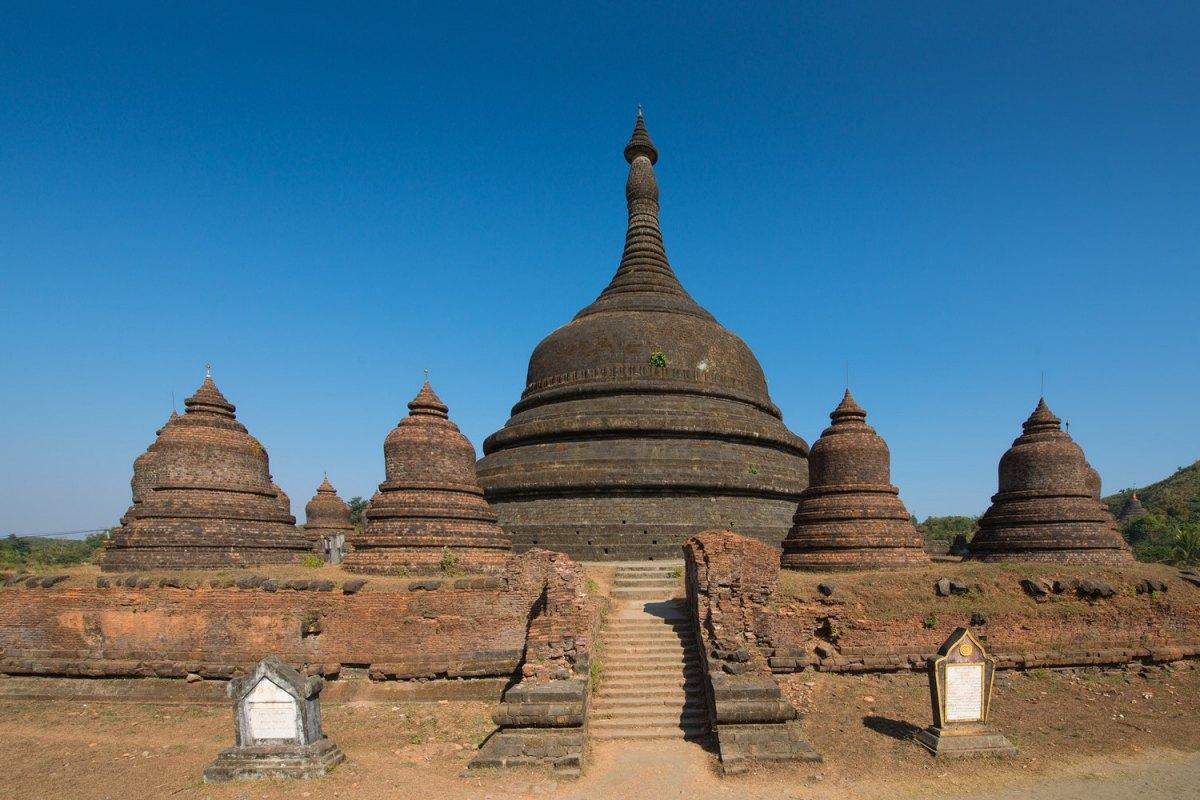 Myanmar-Mrauk u02