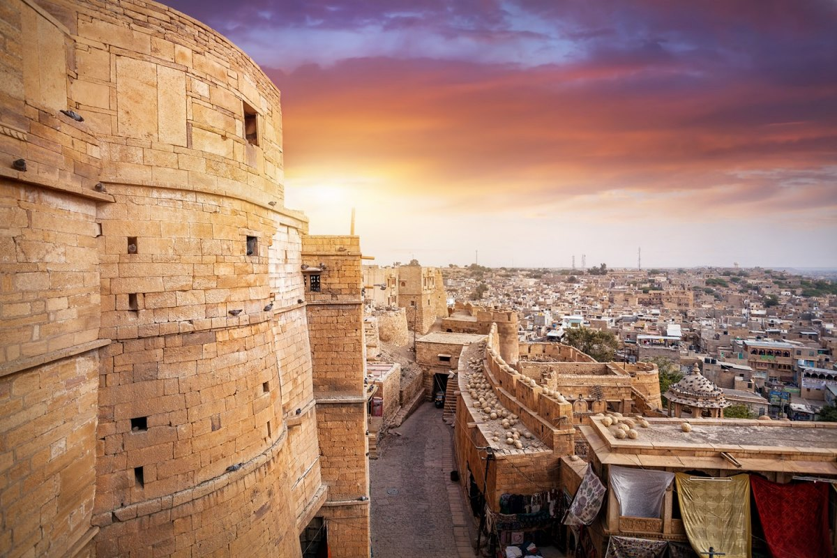 india - jaisalmer fort