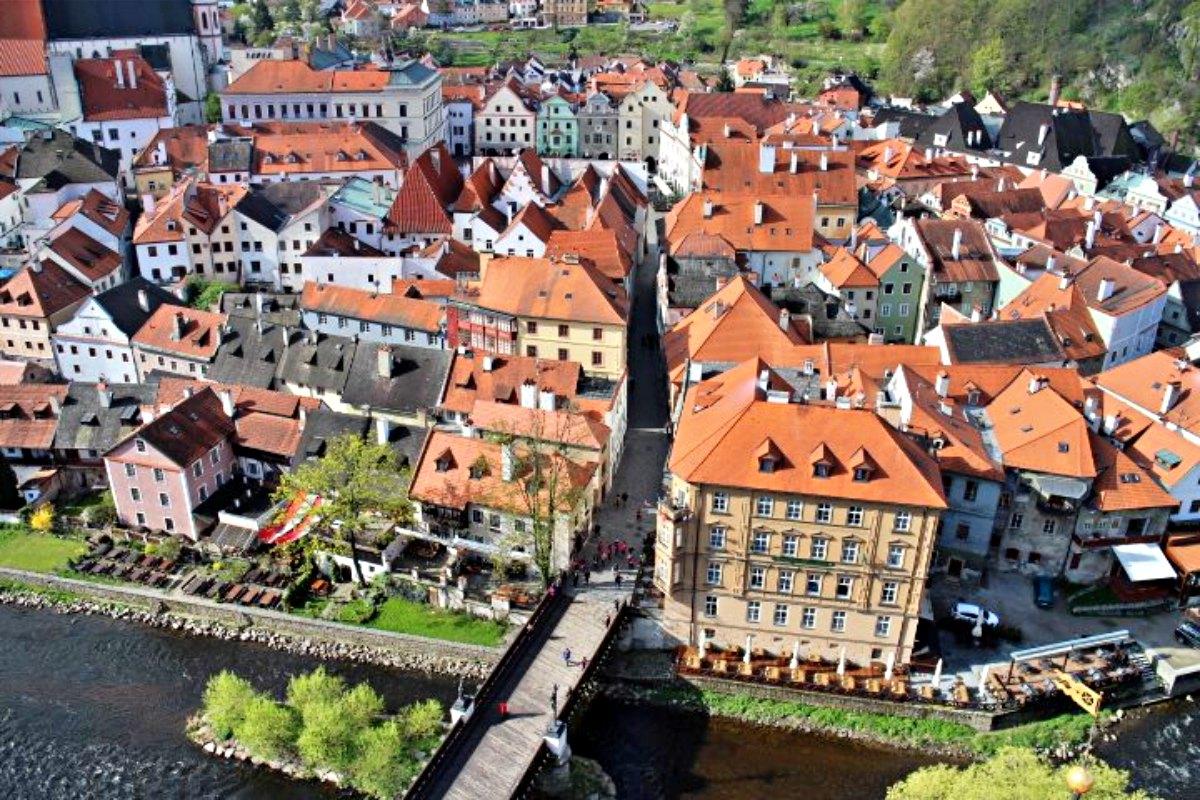 เสน่ห์เมืองเล็กๆที่ Cesky Krumlov แห่งประเทศ Czech 2